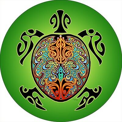Turtle Green Spare Tire Cover Jeep RV Camper VW Trailer etc(all sizes available)