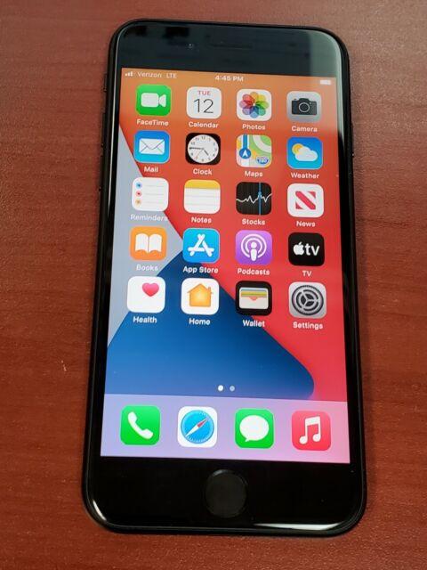 Apple iPhone SE 2nd Gen. - 64GB - Black (Verizon) A2275 ...