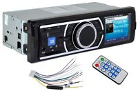 Car Audio Stereo In Dash Mp3 Player Radio With Usb Sd Input Wma Aux Fm Receiver