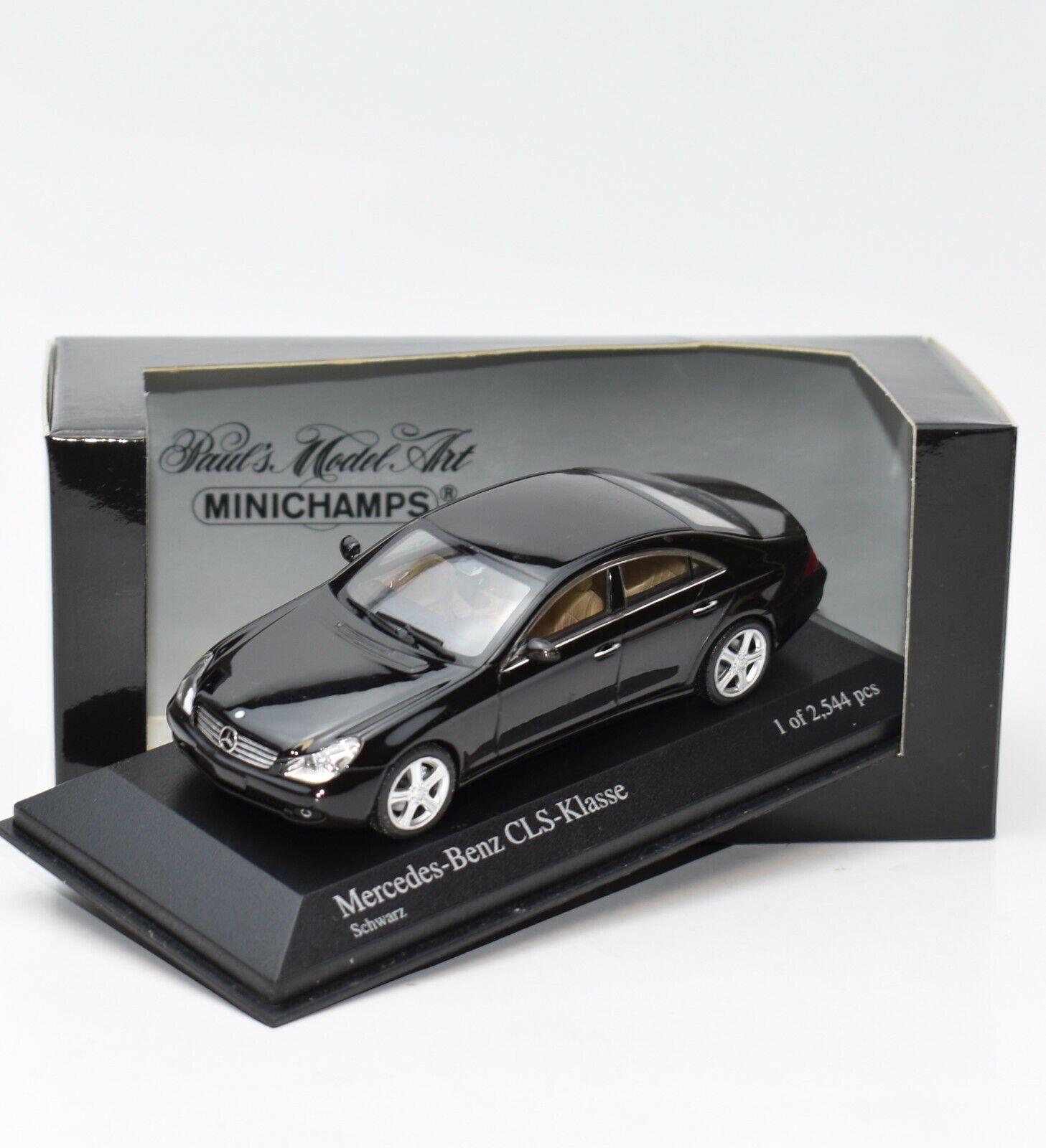 Minichamps 400034300 Mercedes Benz CLS Klasse Bj.2004 schwarz, 1 43 , OVP, K089