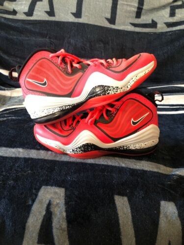Nike Air Penny 5 Lil Penny 628570-601 Atomic Red S