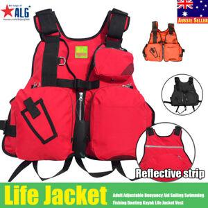 Adult-Adjustable-Buoyancy-Aid-Sailing-Kayak-Canoeing-Fishing-Life-Jacket