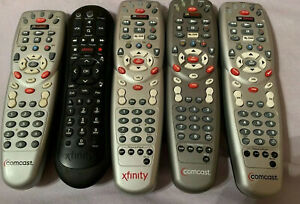 Comcast Xfinity Silver 3-Device Universal Cable TV Remote with Fresh Batteries