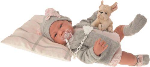 Antonio Juan Puppe Nacida 40 cm mit Stoffkörper 3386