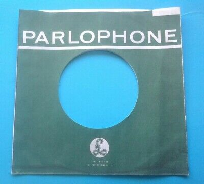 Music Replica/copy Of Original Used Early Parlophone Label Company Record Sleeve Jade White