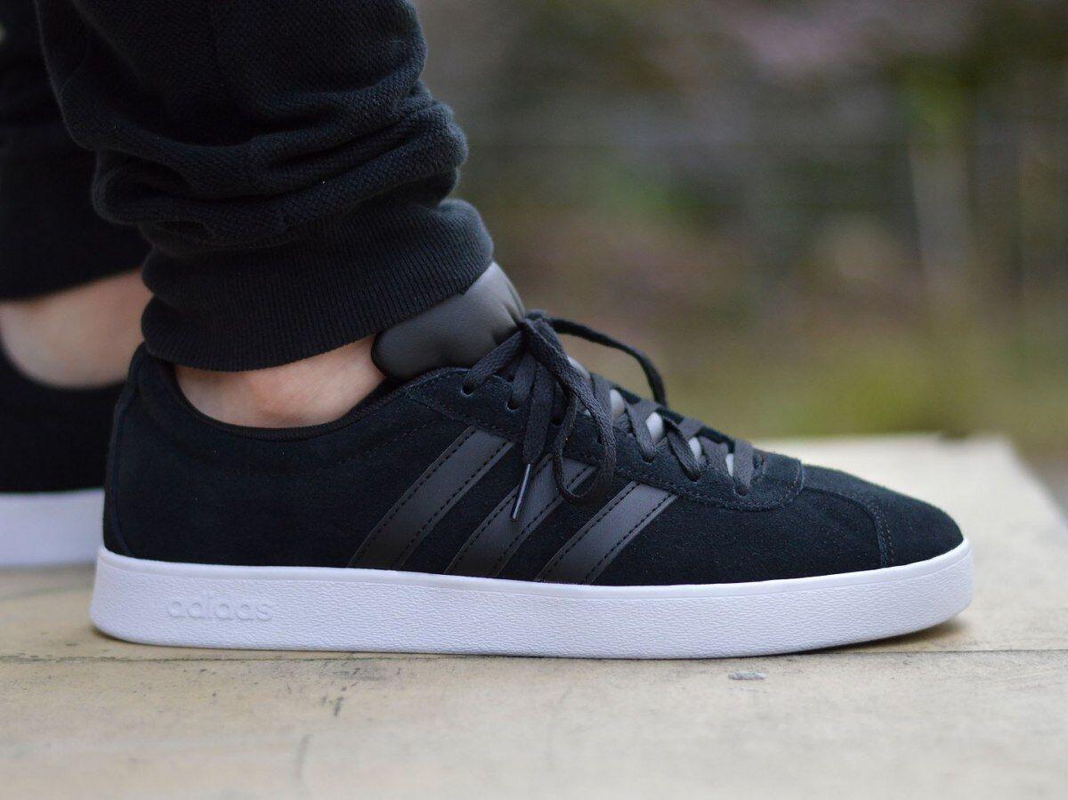 Adidas VL Court 2.0 DA9865 Herren Sportschuhe Turnschuhe