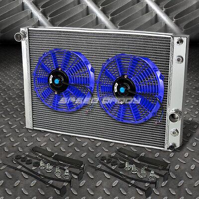 TRI Core High Capacity Race Aluminum Radiator Kit For Chevy 91-96 Corvette V8 MT