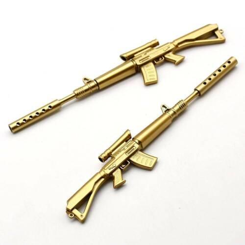 3PCS Fancy /& Fantasy Rifle Shape Black Ink Ballpoint Pen Office Ball Point Pens