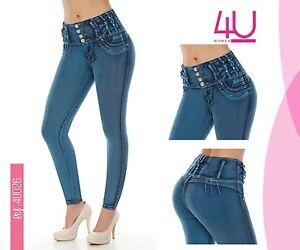 5efb0ec37d La foto se está cargando Jeans-colombianos-Butt-Lifter-fajas-colombianas- Jeans-Levanta-