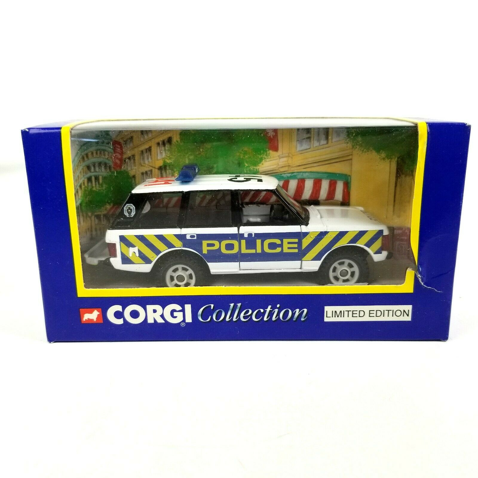 Corgi Collection Range Rover White Diecast Collectible Police Car Replica