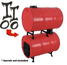 Cast Iron Barrel Adapter Kit for a Double Barrel Camp Stove