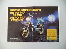 advertising Pubblicità 1985 PIAGGIO SUPERBRAVO SUPER BRAVO