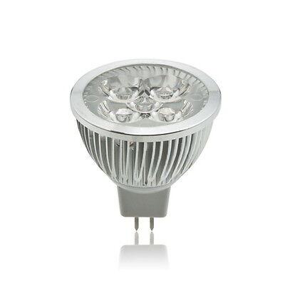 4 LED CREE 4X3W 12W MR16 12V Warm White Spot Down Light Lamp Bulb Lighting HP