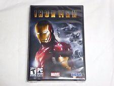 NEW Iron Man 1 PC Game SEALED Sega ironman i Marvel Tony Stark Computer DVD US