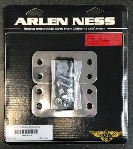 """Arlen Ness Hot Legs Chrome Front Fender Lift Brackets 21/"""" Wheel Harley 14-19"""
