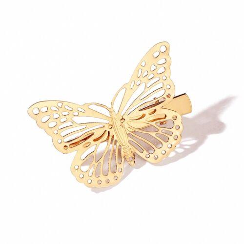 2St Mode Haarclip Haarklammer Schmetterling Haarspange Haarschmuck Haarnadel Pin