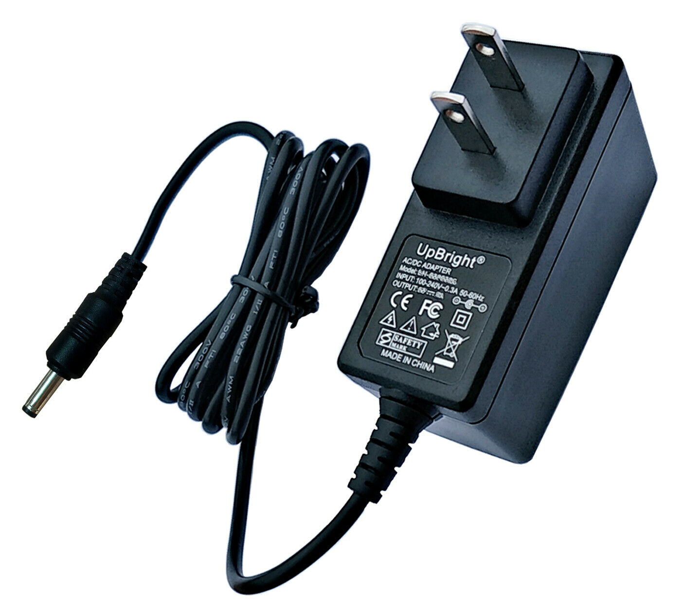 Accessory USA AC//DC Adapter for Sharp Viewcam VL-AH130U VL-AH130 LCD Camcorder Power Supply Cord PS Wall Home Charger Mains PSU 5FT Cable