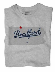 Bradford-Pennsylvania-PA-Penn-T-Shirt-MAP