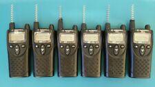 6 Nos Motorola Xu1100 Uhf 2 Way Radio Walkie Talkie 1 Watt 1 Channel