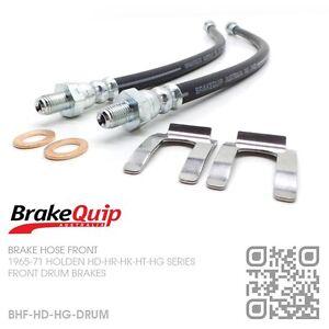 BRAKEQUIP-DRUM-FRONT-BRAKE-HOSE-KIT-HOLDEN-HD-HR-HK-HT-HG-UTE-VAN-SEDAN-WAGON
