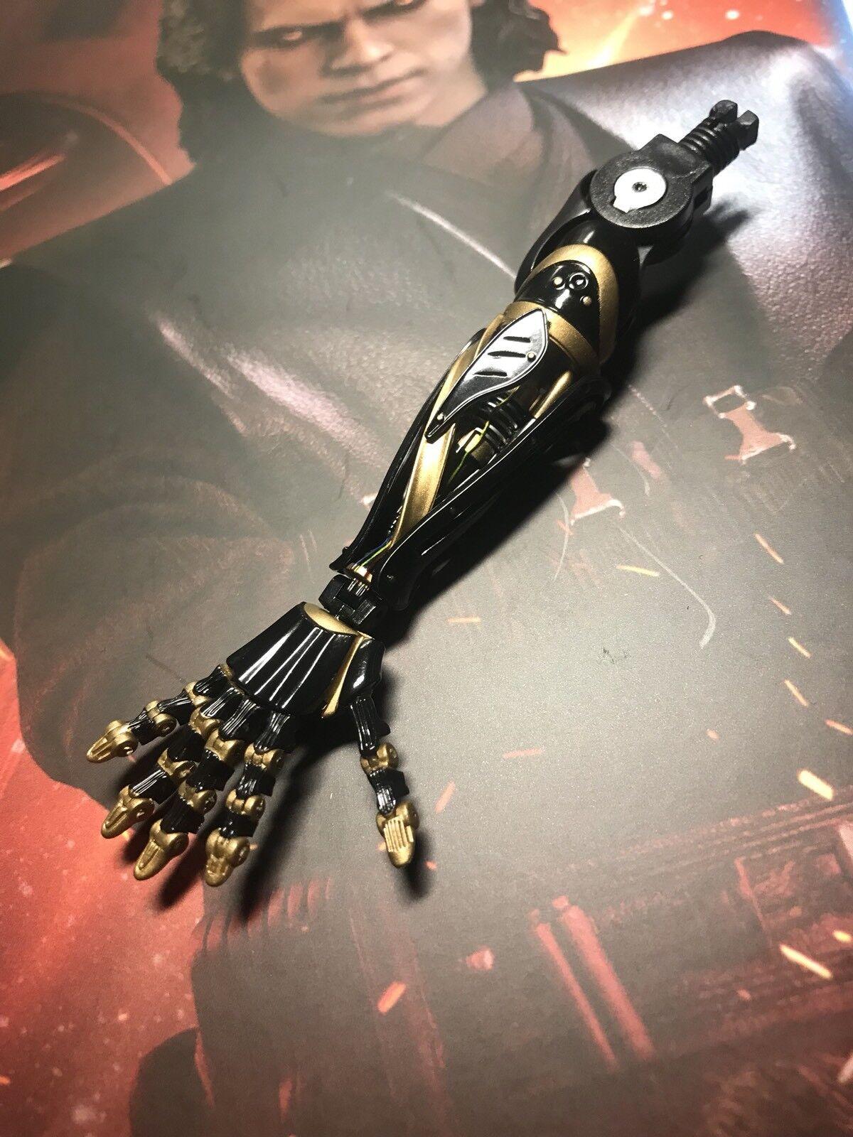 Hot Toys MMS486 Star Wars ANAKIN SKYWALKER Dark Side 1 6 MECHNO RIGHT ARM