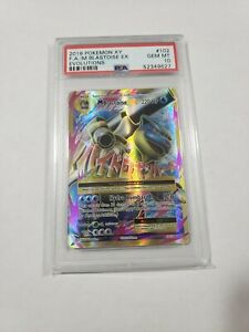 2016-Pokemon-XY-Evolutions-M-Blastoise-EX-102-PSA-10-102-108-psa10-10