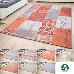 Das Bild Wird Geladen Flachgewebe Teppich Dalarna Design Modern  Webteppich Abwaschbar GUT