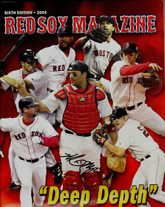 MIKE MYERS AUTOGRAPH SIGNED BOSTON RED SOX 2004 MAGAZINE COA
