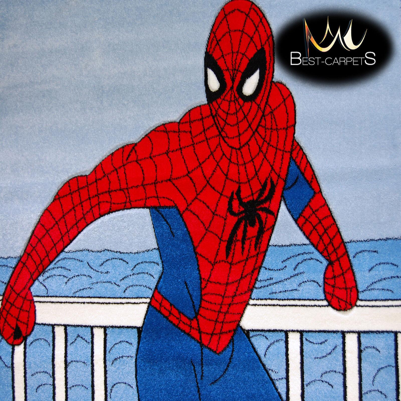 Épais Tapis 'Joyeux' pour les Enfants X Spiderman Extra X Enfants Large 351147