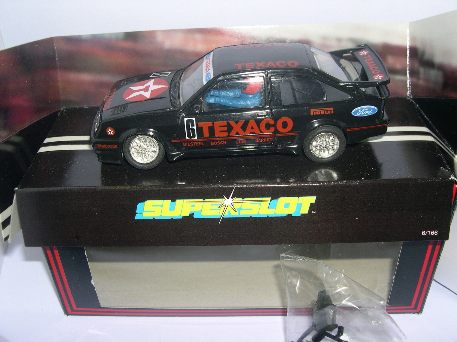 Superslot C004 Ford Sierra Rs Cosworth #6 Texaco Scalextric UK MB