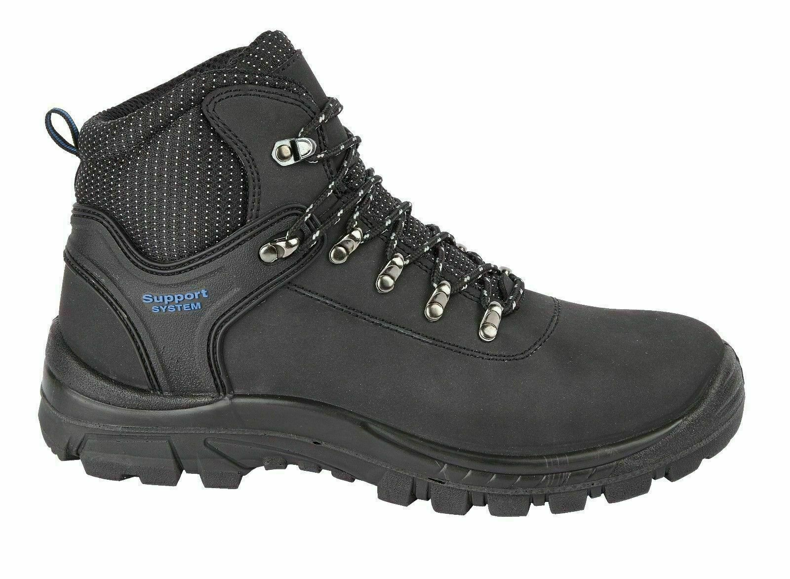 HIMALAYAN 2601 S1P Black Hiker Steel Toe Safety Boot With Midsole