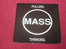 "Mass: Pulling/Thinking  orig rare   UK  7""  NEW  Steve Albini"