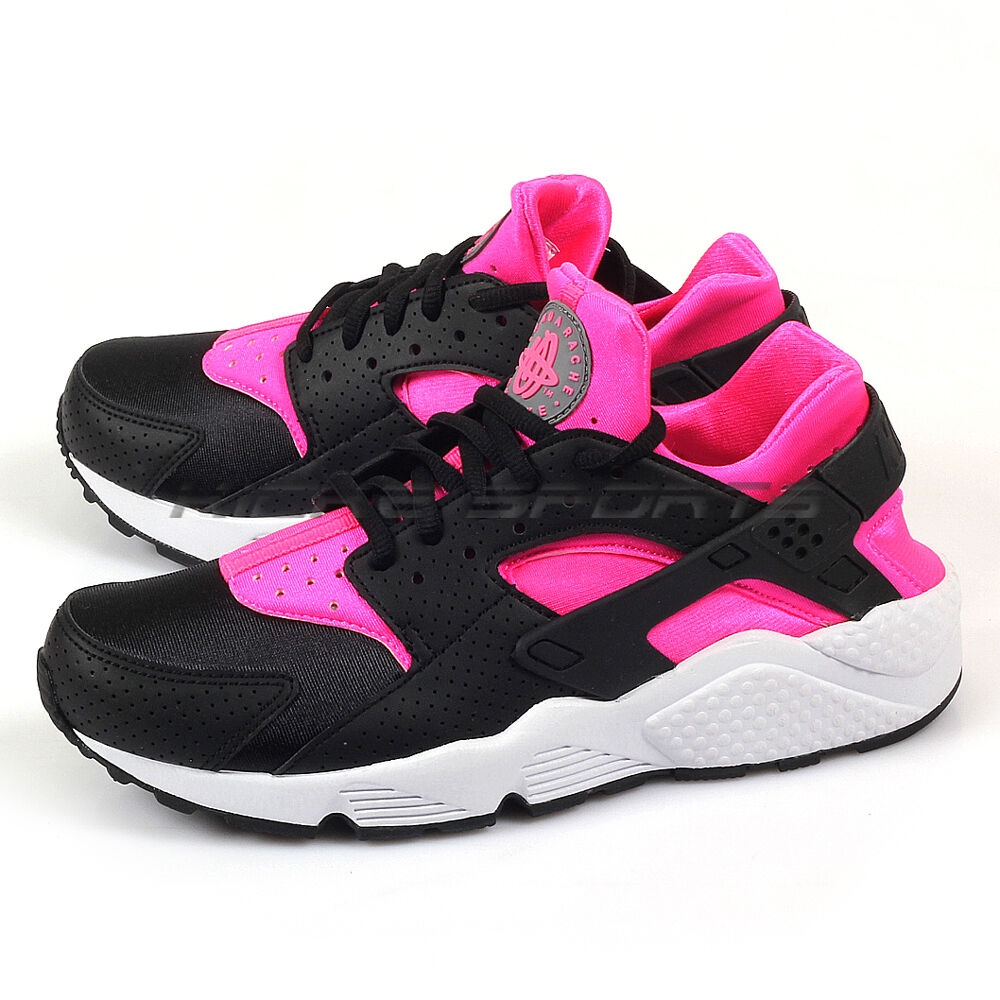Nike Wmns Blast-White Air Huarache Run Black/Pink Blast-White Wmns Classic Running 634835-604 f6d029