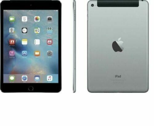 Apple iPad mini 4,128GB 7.9in Wi-Fi+Cellular (Unlocked) RD, IOS14.2 - Space Grey