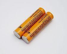 Panasonic aaa rechargeable batteries HHR-83AAABU 2pc 1.2V Ni-MH 830mAh