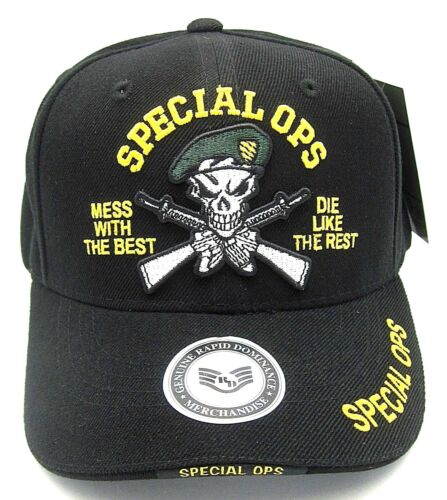 SPECIAL OPS Cap Hat US Army Green Berets US Military NWT USA United States U.S