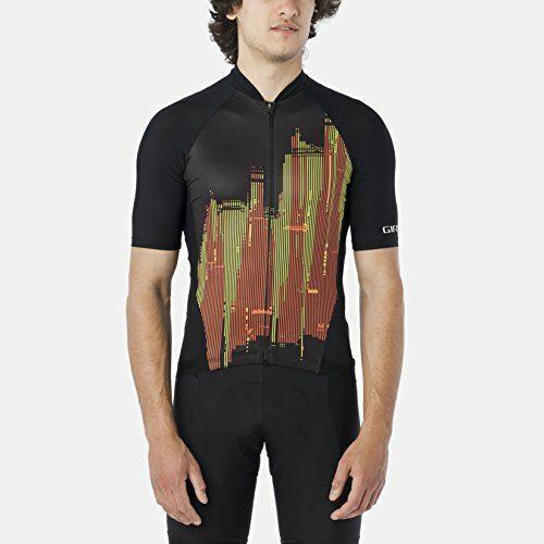 Giro Chrono pro Trikot - Kurzärmelig - Herren Skyline Flamme, L