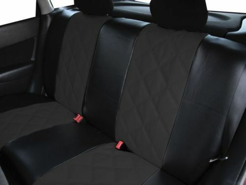 Universal Eco-Leather Full Set Car Seat Covers Mercedes W126 W140