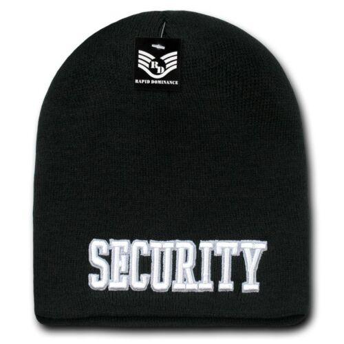 1 Dozen Law Enforcement Short Beanies Knit Caps Hats Wholesale Lots