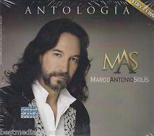 602537660926 - Marco Antonio Solis CD NEW Antologia Musical CON 4 CD's y 1 DVD