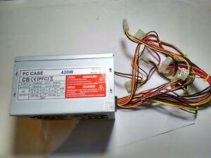 ELECTROSOFT-PC-CASE-420W-ATX2-03-MODEL-300X-CB-PFC-FUENTE-DE-ALIMENTACION