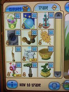 Animal Jam Classic Lot Of 12 Den RIM Rare Rares In Game ...