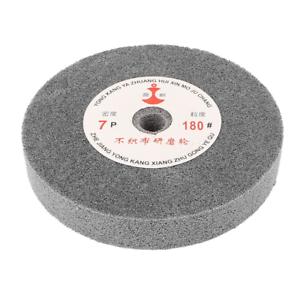 Uxcell a15051300ux0782 150mm Dia 25mm Thick 180 Grit Nylon Fiber Wheel Polishing