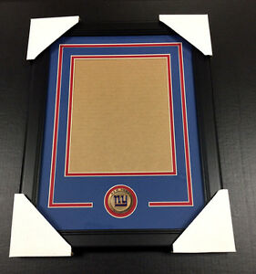 buy popular c0276 68a56 Details about NEW YORK GIANTS Medallion Frame Kit 8x10 Photo Double Mat  VERTICAL