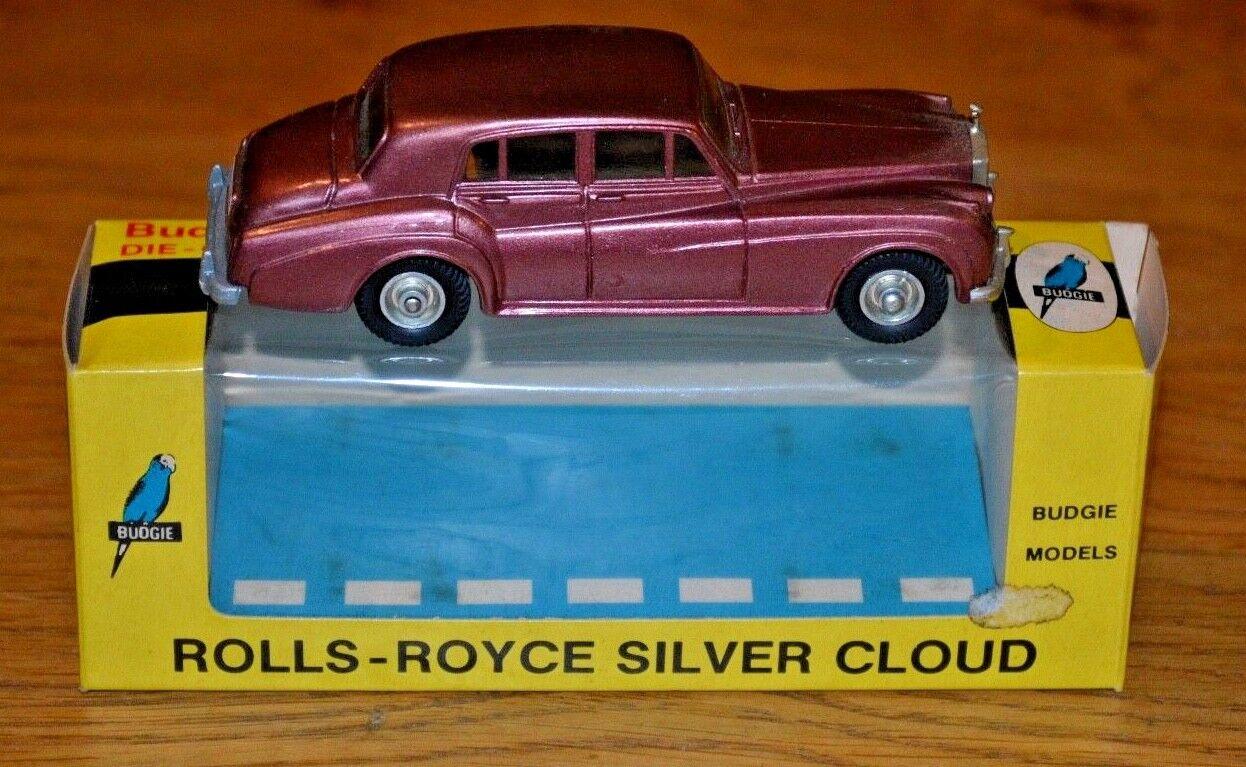 BUDGIE No  102  Rolls Royce Silber Cloud  (Original 1970's Boxed); Near Mint