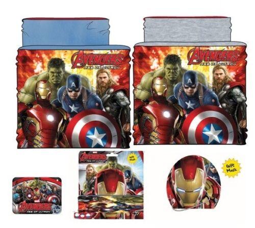 Avengers Schlauchschal Snood Schal Tuch Mütze Stirnband Junge Hulk America Thor