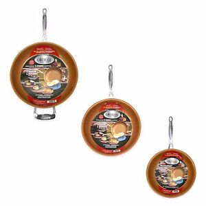 Gotham-Steel-3-Piece-Nonstick-Frying-Pan-Set-3-Sizes-9-5-11-12-5-NEW