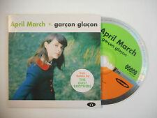 APRIL MARCH : GARCON GLACON ♦ CD SINGLE PORT GRATUIT ♦