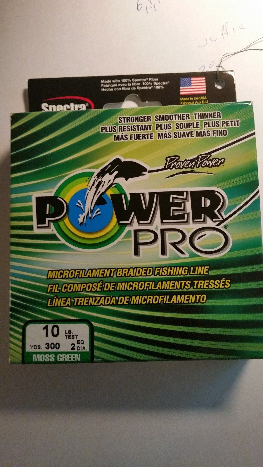 POWER PRO      500     YARDS  50TEST       MOSS GREEN COLOR  500 yards  100% brand new with original quality