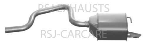 EXHAUST SILENCER FORD MONDEO III B5Y 2.0 TDCi Diesel 2001-10-/> 2007-03